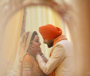 Punjabi romantic couple