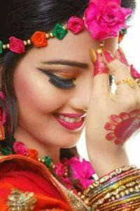 Punjabi Bridal Girl
