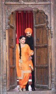 Punjabi Awesome couple