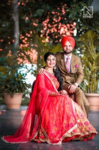 Newly Married Punjabi Couple Pics