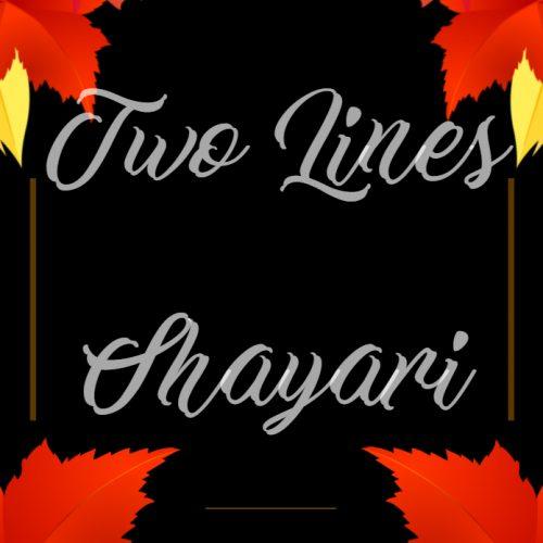 Two Lines Shayari in Hindi | 2 Lines Hindi Status