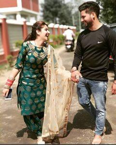 Cute Punjabi Couple Newly Married