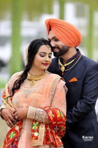 Romantic Punjabi Married Couple Pics